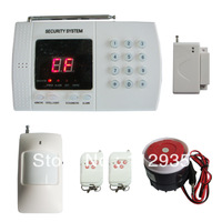 Best selling PSTN Landline 99 defense zone alarm system for home security Model 808B-2