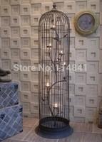 19CM,25CM,30CM  New Iron decorative bird cage, nest, floor candelabra