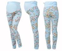2013 summer autumn women pregnant clothes  maternity woman legging capris flower pants M L XL plus size free shipping