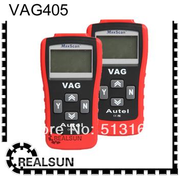 VAG 405 for Volkswagen/Audi/Seat/Skoda/Jetta/Golf/Beetle/Touareg/GTI/Passat and more MaxScan VAG405 OBD2 SCANNER  FREE SHIPPING