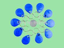 10pcs Lot Key Ring 125khz RFID Rewritable Keyfobs Blank Tag Chip T5577 5200 EM4305 Hotel Token