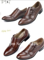 Free shipping 2013 British men business suits shoes lace-up shoes men's shoes pointed leather shoes on sale