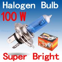 2pcs H4 Super Bright White Fog Halogen Bulb 100W Car Head Light Lamp parking car light source