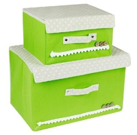 Large/Small Optional Foldable Non-Woven Fabric Storage Organzier Box For Clothes Or Any Clutter Colorful Container Case