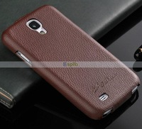 Luxury Genuine Vertical Flip Leather Case for Samsung Galaxy S4 i9500 30pcs/Lot