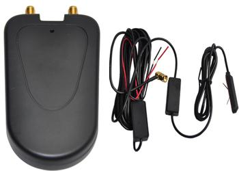 Digital HD S100 DVB-T Mpeg4 TV Receiver Box Tuner Dual Antenna  free map +free shipping