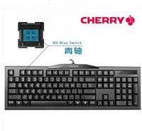 Mechanical Gaming Keyboard Cherry G80-3800 k2.0 Black USB 104 Layout Lasered Keys Cherry MX Blue Switch Dota 2 LOL