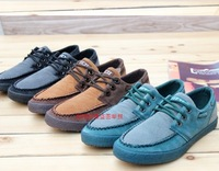 Free shipping 2013 the newest fashion hot-selling men's low shoes male British style breathable skateboarding shoes