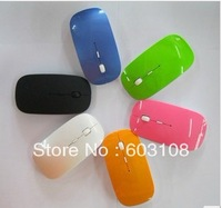 2.4G usb wireless mouse mice 10M working distance slim mouse without retail packing