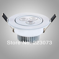 ceiling led light 3W AC85-265V high power lower price lower shipping cost