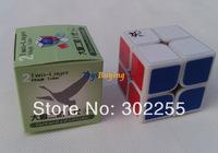 wholesale 10pcs/lot 5.0cm Dayan 2x2 I V1 Speed Cube white/black/stickerless +free shipping