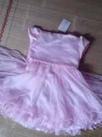 NEW PINK/PINK BRIDESMAID WEDDING BIRTHDAY RECITAL PAGEANT FLOWER GIRL DRESS