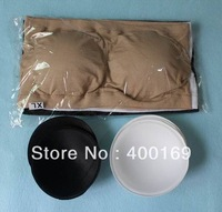 300pcs=100sets STRAPLESS BANDEAU Bra double sides with removal pads LT-7023B