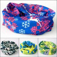 Wholesale 12pcs/lot  ($1.74/piece) Retail packaging Multifunctional headwear pirate bandana hairnode free shipping Number 41-60
