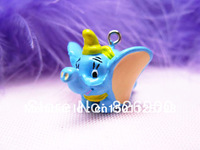 10 pcs Dumbo Charm Pendant Figurine DIY Accessories ACI939