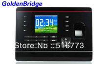 2.8 inch TFT  Color Screen Biometric Fingerprint Attendance Time Clock With TCP/IP
