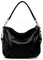 Elegant Designer Genuine Leather Small Shoulder Bags Women's Cowhide Bucket Handbag*Free Shipping MB1010