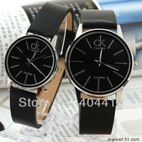 Top Selling Free Shipping Watch for Men and Women lovers Quartz Wtist Watch mens watch black or brown