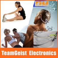 NU Dolphin2.0 Lite Brand NEW waterproof sports swimming Stereo MP3 earhook headphone Neckband Headset Free Shipping