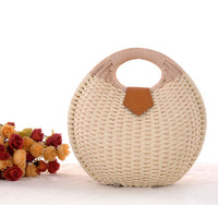 Free Shipping !!! Package rattan rattan straw bag handbag bag vivi magazine latest shell bag straw bags