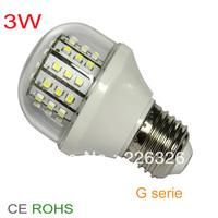 Hot Sale Lower power 2.3W-2.8W   Led  Corn Blub Light E27 E14/E26  3528 SMD bulb lamp  super long life  high  bright lamp
