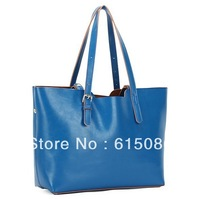 100% REAL LEATHER!!! 4 COLOR LADIES FASHION WOMEN REAL LEATHER HANDBAG,WOMEN SUPERSTAR SHOULDER BAGS FREE SHIPPING