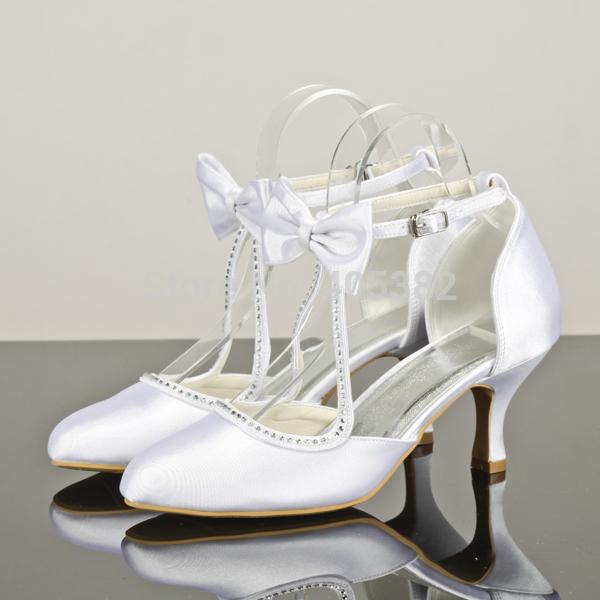diana cheap white custom wedding shoes for bridesmaids pumps designer