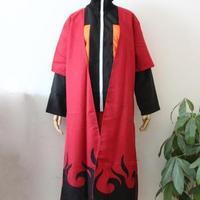 Cosplay anime costume shippuden Cloak Uzumaki  naruto   Sennin Moodo  dress Japanese cartoon coat
