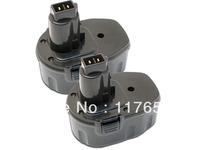 6-Pack 18.00V,2000mAh,Ni-Cd,Hi-quality Replacement Power Tools Battery for DEWALT DC, DW Series,