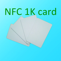 Free shipping 200pcs/lot contactless 1k card with compatible S50 chip card,13.56MHZ ISO14443A