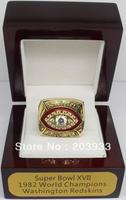 1982 Super Bowl XVII Washington Redskins Championship Ring, customize championship ring, class ring, sport ring, free shipping