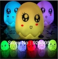 Free shipping&(6pcs/lot) New arrival hight quality charming eggs colourful night light wholesale and retail