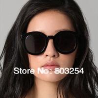 Free Shipping 2014 new  women plastic  vintage round sunglasses --  designer glasses Karen Walker  Super duper strength worship