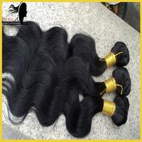 Free shipping!! virgin indian hair body wave,princess hair products,100 g/bundle of hair 3pcs lot color #1#2#1b#4