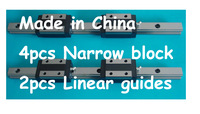 20mm Linear Rail  2xL500mm + 4xHGH20CA
