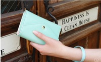 Free shipping  phone card bag holder coin purses small wallet bag  7 colors to choose