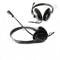 # Selling by 50pcs/lot Headset Headphone Microphone PC Computer For MSN Skype