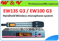Free Shipping professional 135/100 G3 Handheld wireless  Karaoke microphone system Microfones sem fio Microfonos mikrofon