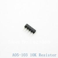 A05-103 10K 5Pin Rows resistor 1/8W 10K ohm 5Pins A type 5% Resistor Network RAA05103 / Resistor Rows (20PCS/LOT)