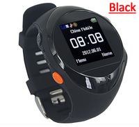 PG88 GPS Tracker Wrist Watch GSM SMS GPRS Surveillance Tracking watch phone machine Many color