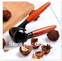 Hot Sale Funnel Shape Walnut Plier Tongs Functional Nutcracker Shucker Nuts Squeezer Also As Bottle Opener Tool 30-909