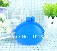 L-P13  Fashion  silicone cosmetic  purse