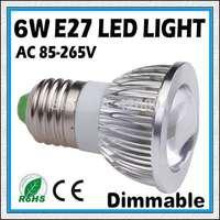 5PCS 6W 9W 12W E27 GU10 E14 COB LED Spot Light Spotlight Bulb Lamp High power lamp 85-265V Warranty 2 years  -free shipping
