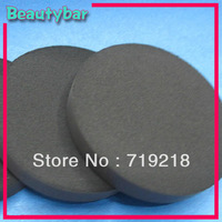 Free shipping Natural Emulsion black bamboo Charcoal cleansing sponge Make Up puff 30pcs/lot
