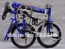 Folding bicycle aluminum folding bike with 14 inches wheels (Hong Kong)