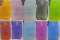 10pcs/Lot Wholesale 10 Colors Rubber Ultrathin Skin Case Cover for Samsung Galaxy S4 I9500