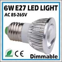 10PCS 6W  9W 12W E27 GU10 E14 COB LED Spot Light Spotlight Bulb Lamp High power lamp 85-265V Warranty 2 years  -free shipping