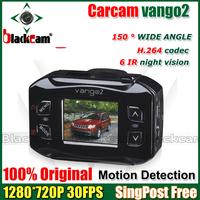Brand New Vango2 Vehicle DVR Camera Super Mini Video Recorder 1920*1080 30FPS 6 IR Night Vision W/G-SENSOR Motion Detection