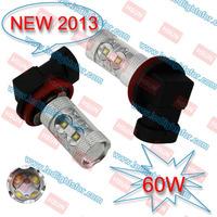 automotive led bulb 60W  1156 1157 7440 7443 H4 H7 H10 HB3 HB4 h8 h11 9005 9006  led high power car light
