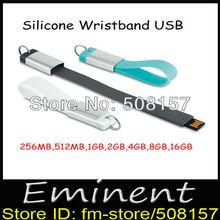 bracelet silicone usb promotion